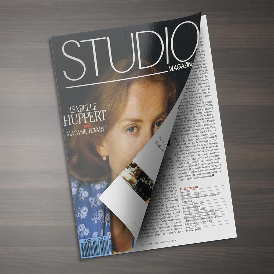 graphiste - édition magazine