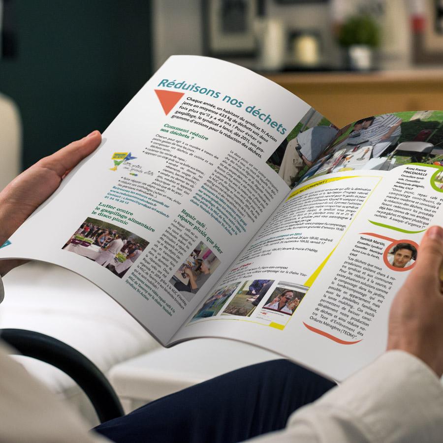 graphiste - édition - magazine