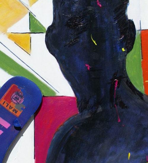 graphiste - Acrylique - Soninke - Mali