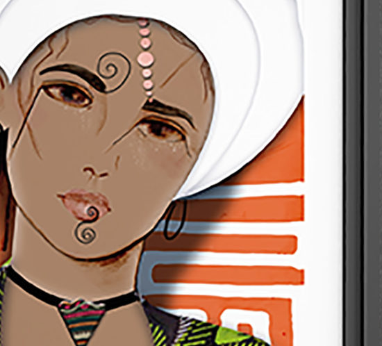 graphiste - dessin - collage numérique
